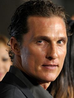 Matthew McConaughey. My favorite actors. #Actors #entertainment #characters #movies
