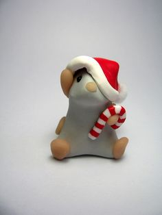 Santa Mouse by QuernusCrafts, via Flickr