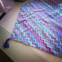 Dettaglio di una tendina a vetro realizzata con i tessuti Rowan  #Rowan #cucito #creativo #casa #tende #tendine #diy #craft #idea #fabric #Brandon #mably #home #deco