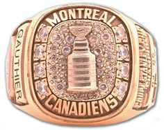 Montreal Canadiens - 1965 Stanley Cup Ring