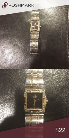 Citizen Brand Black,Gold, and Silver Watch! Needs new battery! Slightly tarnished but can spruced up with jewelry cleaner. Citizen Accessories Watches