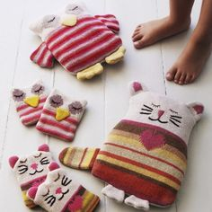 Knitted Warmers