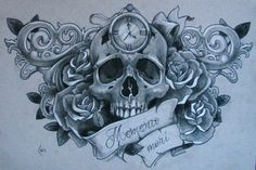 sketch for tattoo by *Xenija88 on deviantART