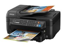 All In One Printer Wireless Color Scanner Copier Fax Home office Laser Printing #Epson