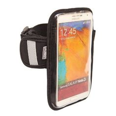 cool Jarv High Quality Armband for Samsung Galaxy Note 2 / Note 3 Mobile Smartphone Water Resistant Neoprene Sports Gym Jogging Exercise Strap (Revised Version)