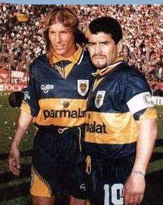Claudio Caniggia & Diego Maradona, Boca Juniors