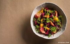 ABC Kitchen's Beets, Yogurt, and Chervil Recipe - DailyCandy Beet Salad Recipes, Healthy Recipes, Best Brunch Places, Roasted Beets, Roasted Carrots, Co Working, Easy Salads, Healthy Eating, Salad
