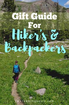 Gift ideas for hikers and backpackers. Hiking and backpacking is a cheap way to get out and enjoy nature. But if you buy all high quality gear, than it can add up. So enjoy this gift guide for hiker's and backpackers! Volunteering around the world gives you a chance to see new places in a humanitarian way. | travel packing | travel USA | travel SE Asia | travel Asia | travel Europe | travel Africa | travel ideas | travel essentials | travel inspiration | travel backpack | travel the world…