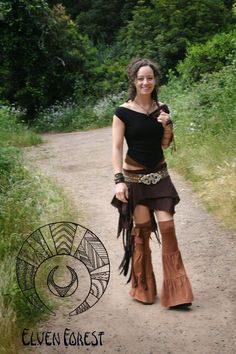 Temple Leg Flares ~ Elven Forest, Festival Clothing, Fluffies, Leg Flares, Gypsy clothing, Leg Warmers, tribal, bellydance, Hooping clothing by ElvenForest on Etsy https://www.etsy.com/listing/78566084/temple-leg-flares-elven-forest-festival