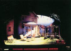 All My Sons. Missouri Repertory Theatre. Scenic design by Daniel Robinson.