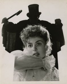Portrait of Ingrid Bergman in Dr. Jekyll and Mr. Hyde directed by Victor Fleming, 1941