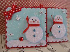 Snowman Embellishments by vsroses.com, via Flickr