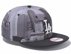 City Landscape LA Dodgers 9Fifty Snapback Cap by NEW ERA