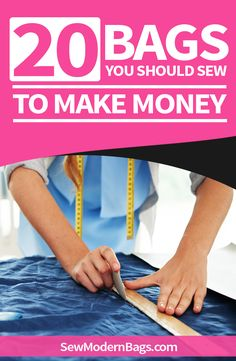 Sew to Sell Secrets. Etsy sellers reveal what patterns they sew for their best selling bags - Sewing Projects Handbag Patterns, Bag Patterns To Sew, Sewing Patterns, Clothes Patterns, Sewing To Sell, Bags Sewing, Sew Bags, Crafts To Make And Sell, Sewing Projects For Beginners