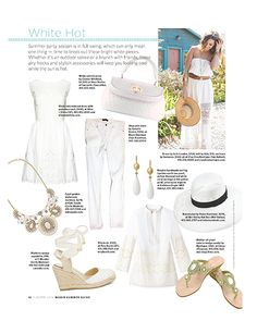 dadbf37e369 Marin Magazine showcases white-hot style for women and men this Spring -  Fashion and