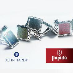 Agrega nuevos estilos a tu colección personal con la recién llegada línea de #JohnHardy. Desde esta temporada disponible en joyería Papidú.