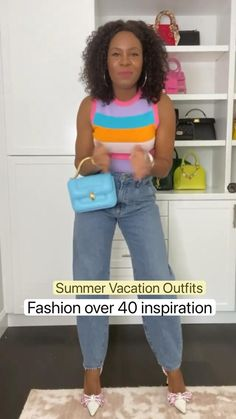 Latest Summer Fashion, Best Of Fashion Week, Fashion Over 40, Summer Vacation Outfits, Summer Outfits Women, Summer Dresses, Chic Outfits, Trendy Outfits, Fashion Outfits