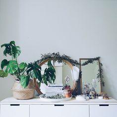 Bedroom styling with plants fladis basket ikea nordli chest of drawers 7282adac3ed8de14e6f7cc5c83df3b39a9addf15
