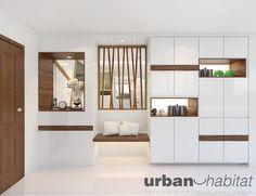 HDB Modern Contemporary At Pasir Ris - Interior Design Singapore Ikea Living Room, Apartment Room, Home, Cabinet Design, Shoe Cabinet Design, Modern Room, Apartment Living Room, Interior Design Singapore, Room Design