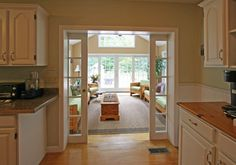pocket glass doors sunroom | Sunroom Additions Design Ideas, Pictures, Remodel, and Decor - page 7