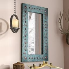 8 Ridiculous Tips Can Change Your Life: Wall Mirror With Lights Lamps wall mirror diy fireplaces.Wall Mirror Collage Artworks round wall mirror entry ways. Farmhouse Wall Mirrors, Wall Mirrors Entryway, Rustic Wall Mirrors, Living Room Mirrors, Round Wall Mirror, Metal Wall Decor, Entryway Console, Vanity Mirrors, Wood Mirror