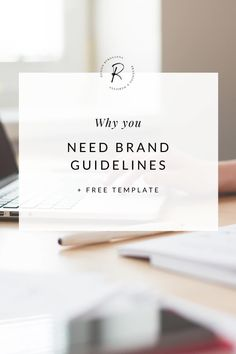 Brand guidelines are extremely important for creating consistency in your business. Use my free template to create yours | #brandguidelines #brandtips #brandingtips #marketingtips #freelancetips #smallbusinesstips
