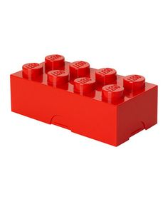 Loving this Red LEGO Lunch Box on #zulily! #zulilyfinds