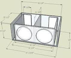 Resultado de imagen para subwoofer box design for 12 inch Diy Subwoofer, 12 Inch Subwoofer Box, Custom Subwoofer Box, Subwoofer Box Design, Car Speaker Box, Speaker Plans, Speaker Box Design, Sub Box Design, Audio Box
