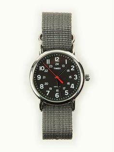 F R E E / M A N - Journal - Timex Weekender – Silver, Black & Grey - Mens Watch