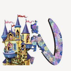 Alfabeto de Princesas Disney. | Oh my Alfabetos! Disney Alphabet, Cute Alphabet, Alphabet Letters, Alfabeto Disney, Disney Princess Party, Snow Globes, Lettering, Wallpaper, Drawings