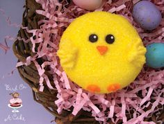 Easter Chick Cupcakes by Bird on a Cake