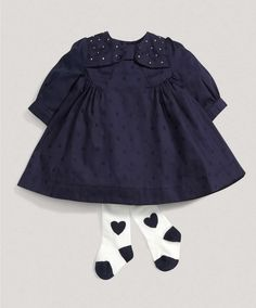 Girls Welcome to the World Two Piece Dress Set