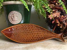 Stig Lindberg, Ceramic Fish, Swedish Design, Fish Dishes, Autumnal, Retro Design, The Dish, Scandinavian, Vintage Items