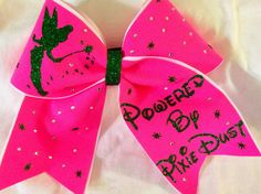Powered by pixie dust rhinestone glitter by Bowstobling on Etsy, $25.00