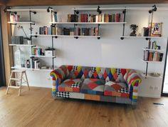 Industriální Knihovna Industrial Pipe Bookshelves Industriální - Pipe bookshelves
