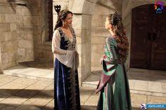 Fatma Sultan (Meltem Cumbul), Mihrimah Sultan (Pelin Karahan) - Muhteşem Yüzyıl 118. Bölüm Fotoğrafları