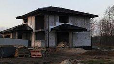 Dom Korso 2 – zdjęcia z budowy Shed, House Design, Outdoor Structures, Cabin, House Styles, Home Decor, New Houses, Homemade Home Decor, Backyard Sheds