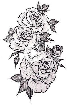 Cute Tattoos, Beautiful Tattoos, Body Art Tattoos, Sleeve Tattoos, Pretty Tattoos, Awesome Tattoos, Sexy Tattoos, Tatoos, 3 Rosen Tattoo