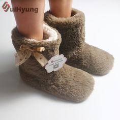 Suihyung зима теплая женская домашняя обувь с хлопковой подкладкой Обувь Botas плюшевые толстые домашние тапочки женские Спальня обувь для помещения Шлёпанцы для женщин Цена: US $9.99 / Пара Цена со скидкой: US $7.59 / Пара  -24%