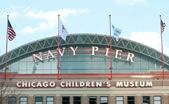 """Located at Navy Pier, the Chicago Children's Museum is a fun & interactive place where both infants & children are encouraged to """"create, explore & discover together through play."""" Its unique exhibits include Dinosaur Expedition, WaterWays & Kids Town--which features a real CTA bus & kid-sized cityscape!"""