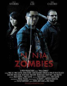 This actually exists! A Noah Cooper Film.  #ninja #zombie #movie #noahcooper