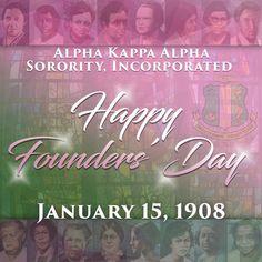 Alpha Kappa Alpha, Inc. Alpha Kappa Alpha, Inc. Alpha Kappa Alpha Founders, Kappa Alpha Psi Fraternity, Alpha Kappa Alpha Sorority, Zeta Phi Beta, Delta Sigma Theta, Aka Founders, Happy Founders Day, Aka Sorority Gifts, Sorority Life