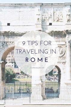 How Not to Look Like a Tourist in Rome- My addition would be don't cry in sheer joy at everything you see, touch, way or hear. Because I most definitely be sobbing everywhere