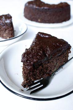 chocolade wortel taart