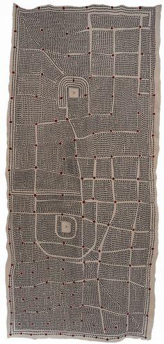Amparo de la Sota. Embroidery. Linen, cotton.