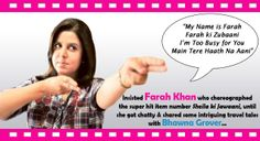 Farah ki kahaani! Read about Farah's family vacation spots and why her maid is her favourite travel buddy!