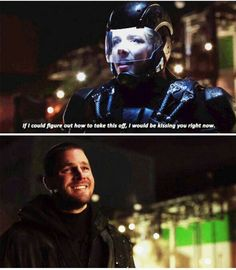 That smile...#Olicity