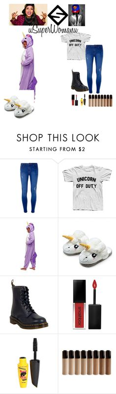 """iisuperwomanii"" by that-awesome-tomboy ❤ liked on Polyvore featuring Dorothy Perkins, Dr. Martens, Smashbox and L.A. Colors"