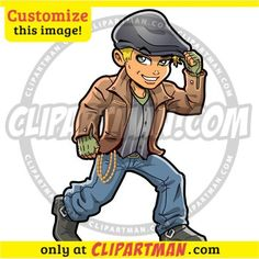 Teenager clipart cartoon : CUSTOMIZE this character! - Clipartman.com