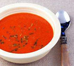 ... on Pinterest | Red Pepper Soup, Creamy Tomato Soups and Soups